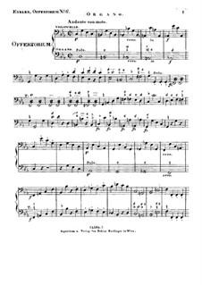 Timebunt gentes nomen tuum Domine, HV 87: Orgelstimme by Joseph Eybler