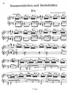 Sommermärchen und Herbstblätter, Op.39: Stück Nr.1 by Robert Fuchs