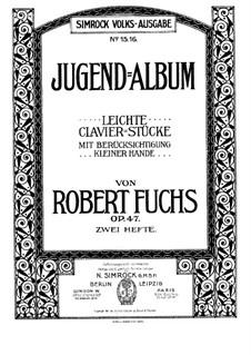 Jugendalbum, Op.47: Für einen Interpreten by Robert Fuchs