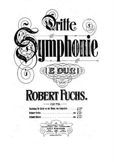 Sinfonie Nr.3 in E-Dur, Op.79: Teil I by Robert Fuchs