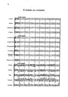 Sinfonie Nr.3 in E-Dur, Op.79: Teil II by Robert Fuchs