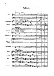 Sinfonie Nr.3 in E-Dur, Op.79: Teil IV by Robert Fuchs