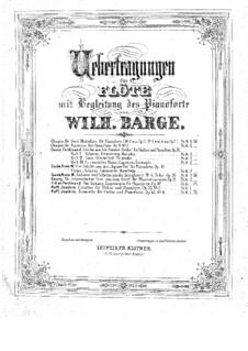 Aquarelle, Op.19: No.1-3, 9 für Violine und Klavier – Partitur, Solo Stimme by Niels Wilhelm Gade