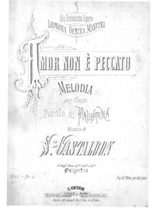 Amor non è Peccato: Amor non è Peccato by Stanislao Gastaldon