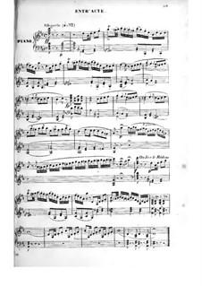 Pique Dame: Akt III, für Solisten, Chor und Klavier by Fromental Halevy