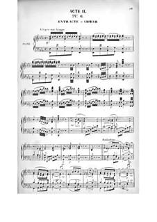 Le brasseur de Preston (Der Brauer von Preston): Akt II by Adolphe Adam