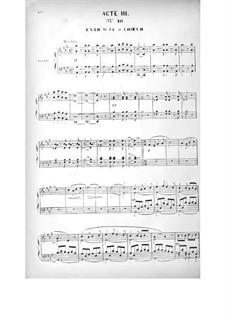 Le brasseur de Preston (Der Brauer von Preston): Akt III by Adolphe Adam