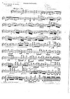 Grosse Konzertfantasie, Op.16: Solostimme by Alexandre Joseph Artôt