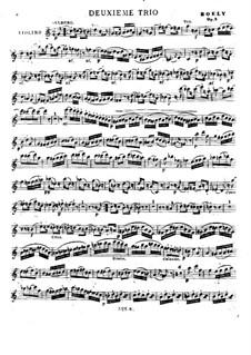 Drei Streichtrios, Op.5: Nr.2 – Violinstimme by Alexandre Pierre François Boëly
