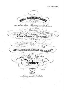 Konzertduo für Violine und Cello: Cellostimme by Antoine Bohrer