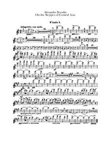 Eine Steppenskizze aus Mittelasien: Flötenstimme by Alexander Porfiryevich Borodin