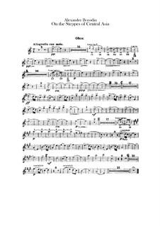 Eine Steppenskizze aus Mittelasien: Oboen- und Englischhornstimmen by Alexander Porfiryevich Borodin
