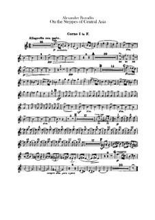 Eine Steppenskizze aus Mittelasien: Hörnerstimmen by Alexander Porfiryevich Borodin