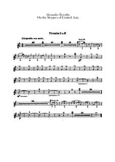 Eine Steppenskizze aus Mittelasien: Trompetenstimmen by Alexander Porfiryevich Borodin