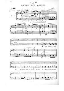 Die Puppe: Akt IV. Bearbeitung für Stimmen und Klavier by Edmond Audran