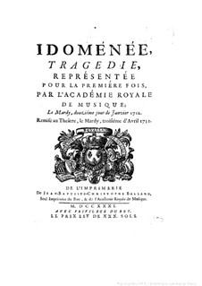 Idomeneus: Idomeneus by André Campra
