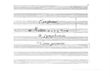 Motetten: Teil I by Giacomo Carissimi