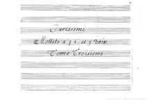 Motetten: Teil III by Giacomo Carissimi