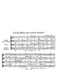 Helas, que pourra devenir: Helas, que pourra devenir by Firminus Caron
