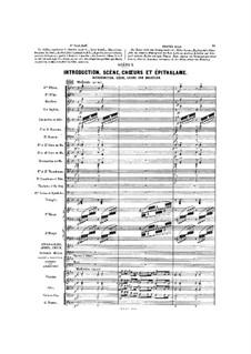 Gwendoline: Akt II, Szene I by Emmanuel Chabrier