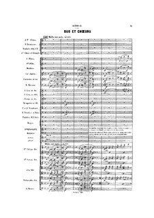 Gwendoline: Akt II, Szene II by Emmanuel Chabrier