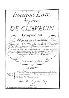 Ordres No.13-19: Ordres No.13-19 by François Couperin