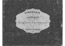 Sinfonie Nr.75 in D-Dur, Hob.I/75: Teil I. Version für Klavier, vierhändig by Joseph Haydn