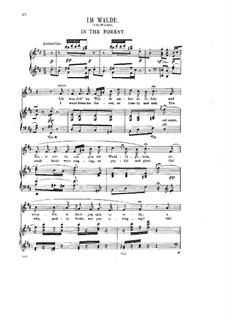 Acht Lieder, Op.5: Nr.8 Im Walde by Halfdan Kjerulf