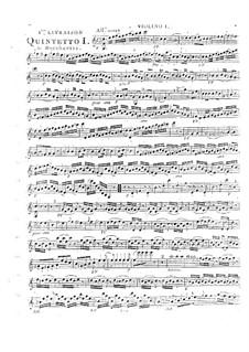 Streichquintette, Op.45: Quintett Nr.4 in C-Dur, G.358 by Luigi Boccherini