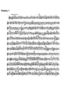 Sinfonie Nr.1 in B-Dur, G.493 Op.21: Violinstimme I by Luigi Boccherini