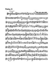 Sinfonie Nr.1 in B-Dur, G.493 Op.21: Violinstimme II by Luigi Boccherini