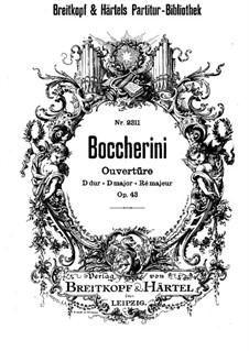Sinfonie in D-Dur, G.521 Op.43: Ouvertüre by Luigi Boccherini