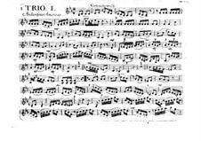 Sechs Streichtrios, Op.6: Violinstimme II, G.89-96 by Luigi Boccherini