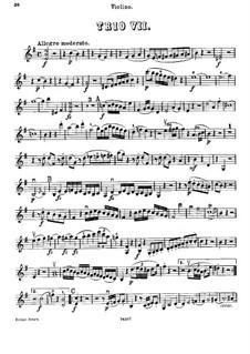 Klaviertrio Nr.7 in e-Moll, Hob.XV/12: Violinstimme by Joseph Haydn