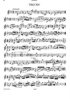 Klaviertrio Nr.26 in c-Moll, Hob.XV/13: Violinstimme by Joseph Haydn