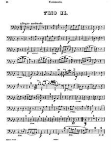 Klaviertrio Nr.27 in As-Dur, Hob.XV/14: Cellostimme by Joseph Haydn