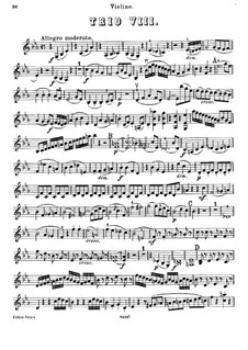 Klaviertrio Nr.42 in Es-Dur, Hob.XV/30: Violinstimme by Joseph Haydn