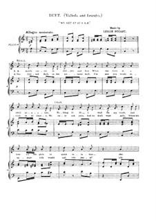 Florodora: No.22 We Get Up at 8 A.M by Leslie Stuart