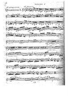 Streichquartette, Op.32: Quartett Nr.4 in C-Dur, G.204 by Luigi Boccherini