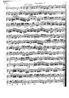 Streicherquartette, Op.41: Quartett Nr.2 in C-Dur, G.215 by Luigi Boccherini