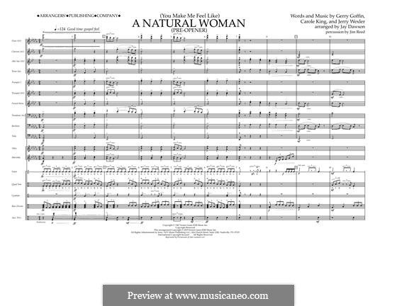 (You Make Me Feel Like) A Natural Woman (Pre-Opener) Aretha Franklin: Conductor by Carole King, Gerry Goffin, Jerry Wexler