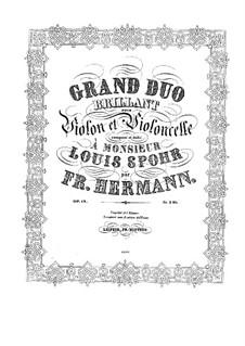 Drei Duos für zwei Violinen, G.63-65: Drei Duos für zwei Violinen by Luigi Boccherini