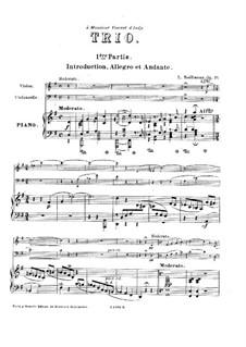 Klaviertrio in G-dur, Op.19: Klaviertrio in G-dur by Léon Boëllmann