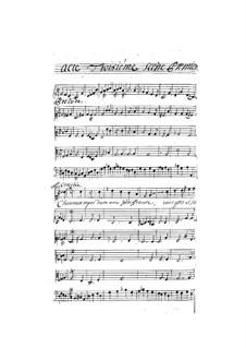 Théagène et Cariclée: Akt III by Henri Desmarets