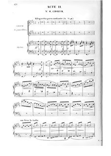 Giralda oder Die neue Psyche: Akt II by Adolphe Adam