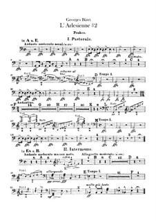 Suite II: Schlagzeugstimmen by Georges Bizet