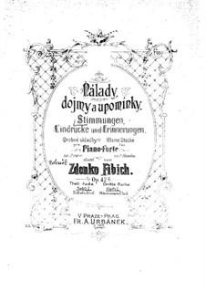 Heft 1, Op.47 No.1-26: Buch 1 by Zdeněk Fibich