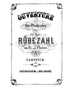 Rübezahl: Ouvertüre by Friedrich von Flotow