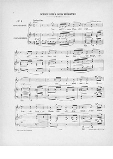 Sechs Gesänge, Op.26: Vollsammlung by Robert Franz