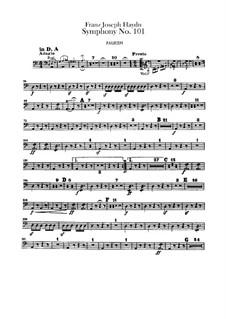 Sinfonie Nr.101 in D-Dur 'Die Uhr', Hob.I/101: Paukenstimme by Joseph Haydn